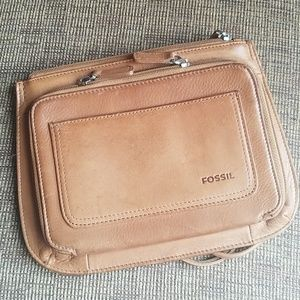 Fossil Leather Crossbody Bag Gently Loved Gorgeous
